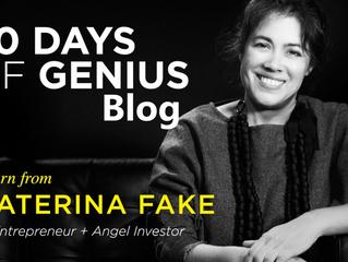 30 Days Of Genius Blog: Caterina Fake