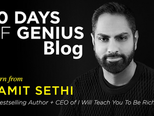 30 Days Of Genius Blog: Ramit Sethi