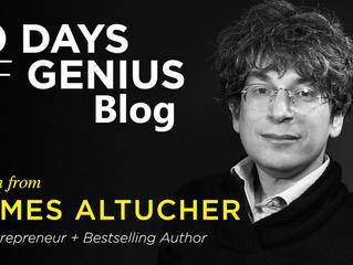 30 Days Of Genius Blog: James Altucher