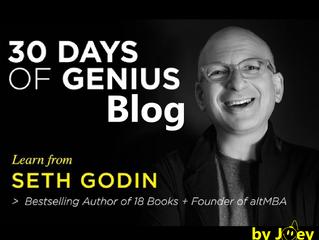 30 Days Of Genius Blog: Seth Godin