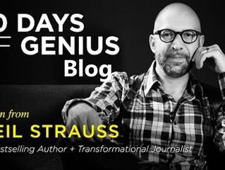 30 Days Of Genius Blog: Neil Strauss