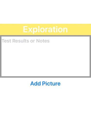 Exploration Card