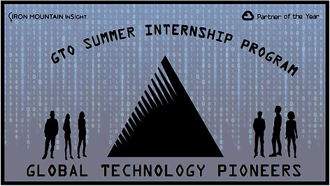 Iron Mountain Internship Logo