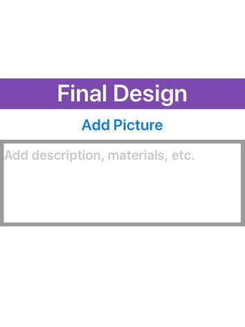 Final Design Card