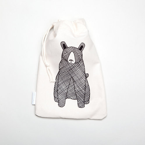 Bear cloth bag
