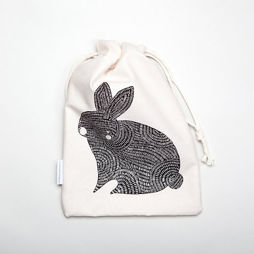 Rabbit cloth bag