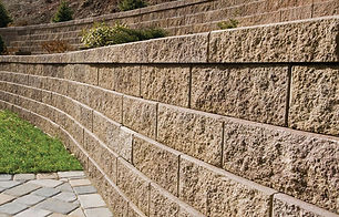 bricks retaining walls