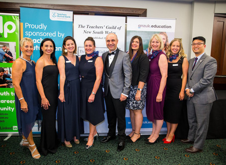 Teachers' Guild of NSW announces winners of 2018 World Teachers Awards