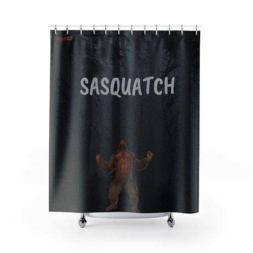 Sasquatch Shower Curtains