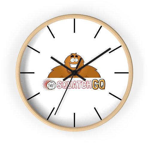 Squatch GQ Wall clock