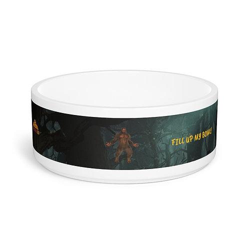Sasquatch Pet Bowl