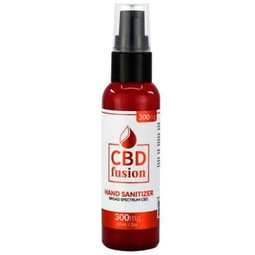 CBD Fusion - CBD Topical - Broad Spectrum Hand Sanitizer - 300mg