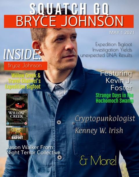 Squatch GQ Magazine May 2021