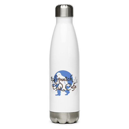 Squatch GQ Cafe Stainless Steel Water Bottle