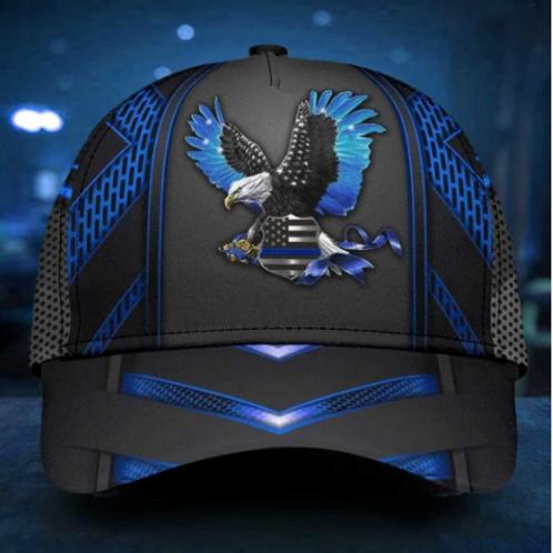 Back The Blue Eagle Classic Cap