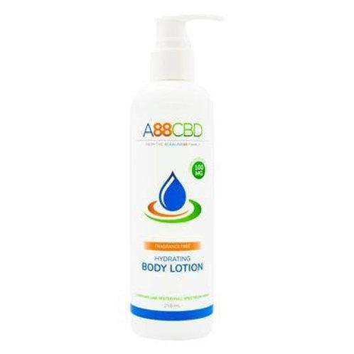 A88 CBD - CBD Topical - Full Spectrum Hydrating Body Lotion - 100mg