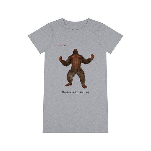 Sasquatch Organic T-Shirt Dress