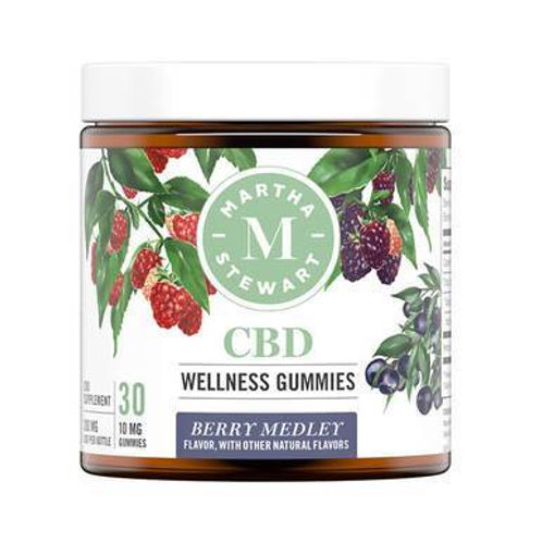 Martha Stewart - CBD Edible - Berry Medley Gummies - 300mg