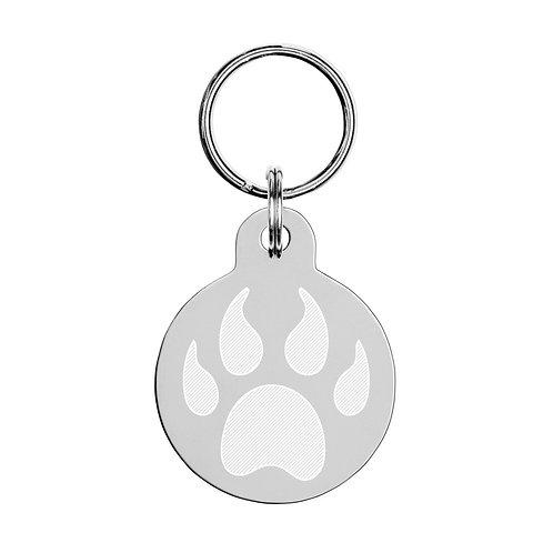 Engraved pet ID tag