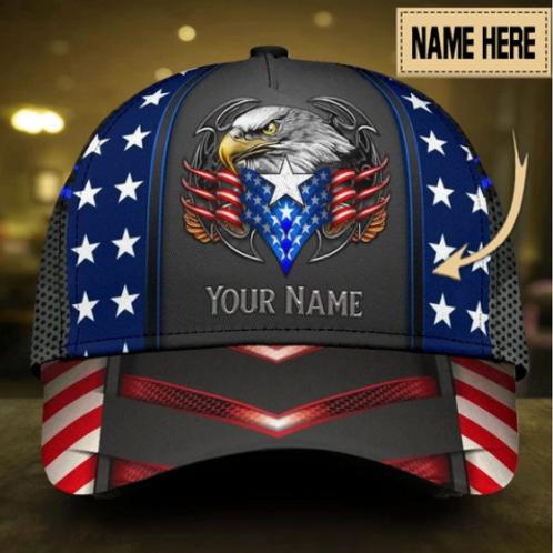 Custom Eagle Proud America Personalized Name