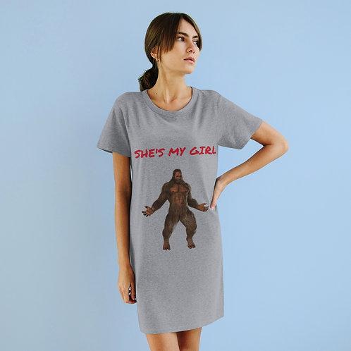 Squatch GQ Organic T-Shirt Dress