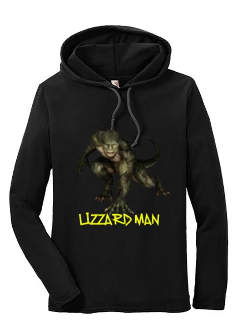 Lizzard Man Hoodie