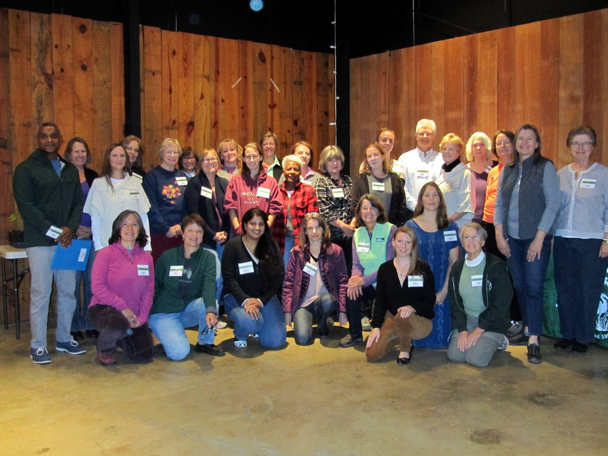 Oct 2015 volunteer training at Morven Park in Loudoun County
