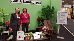 Feb 2016 Representatives of PNN staffed the Ask a Landscaper booth at the Capital Remodeling and Gar