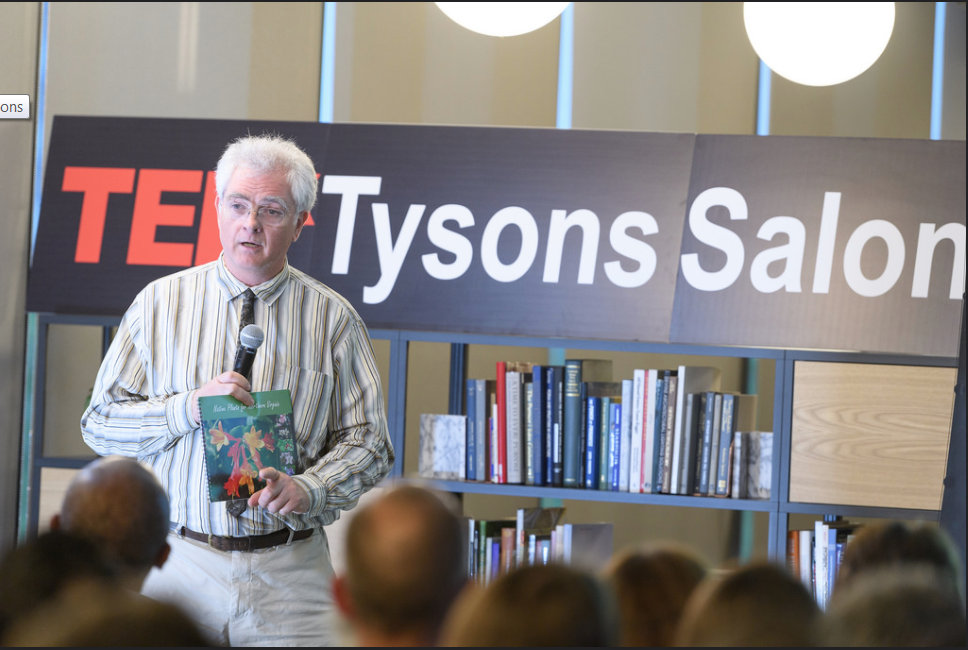 Alan Ford giving a TEDx talk about the campaign