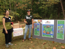 Sept 2015 booth at Runnymede Park in Herndon