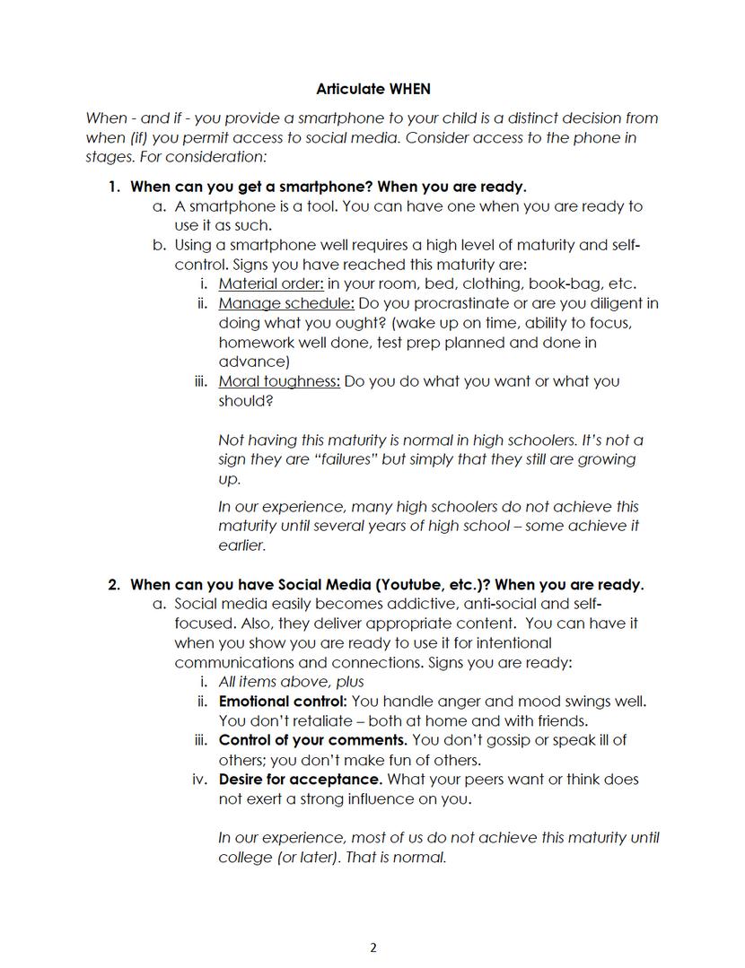Parent Help Guide