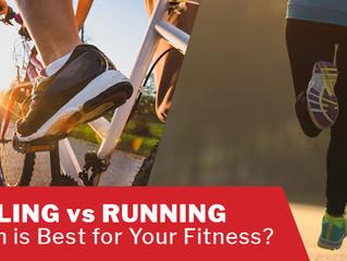 Cycling Vs Running