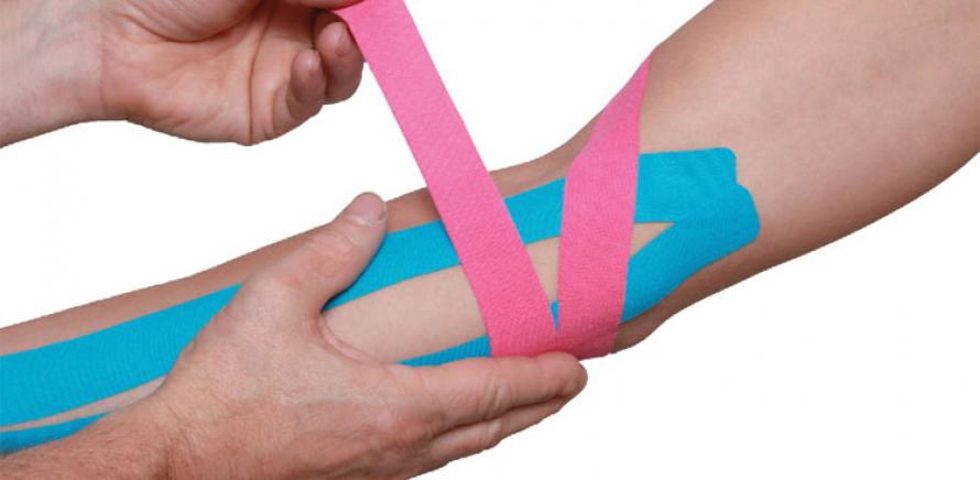 Kinesiotaping for Golfers Elbow