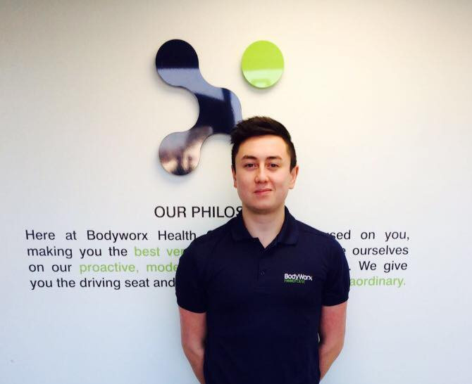 Kenny - our Sports Massage Therapist