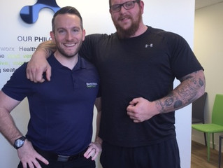 One of UK's Strongmen Chooses Bodyworx for Healthcare!