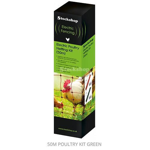 50 Meter Poultry Kit (Green)