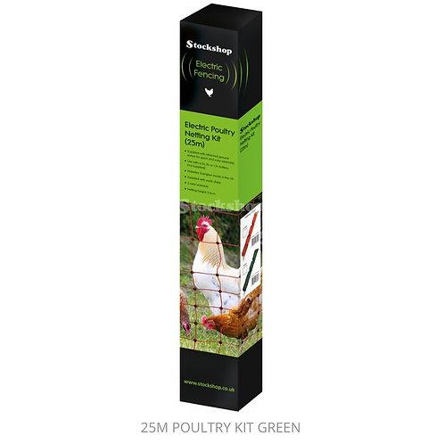 25 Meter Poultry Kit (Green)