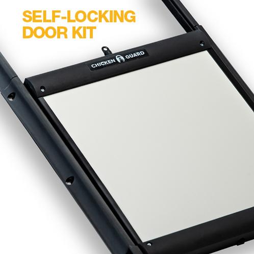 DoorGuard self-locking door kit