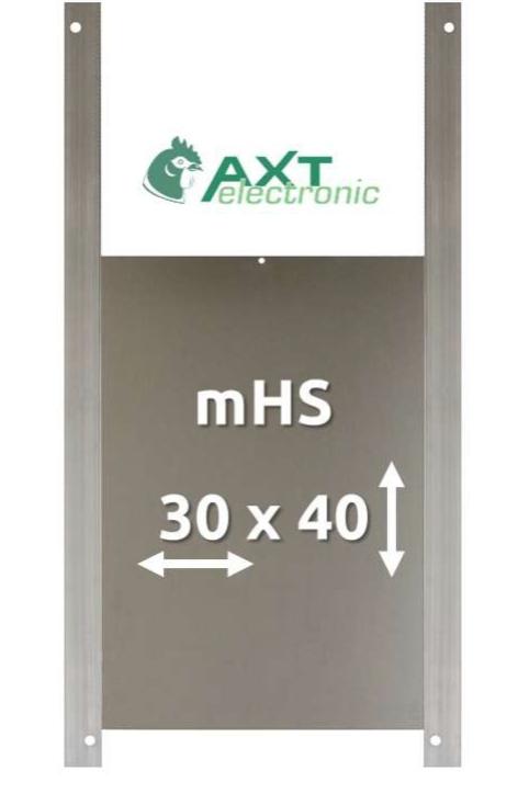 AXT Electronic Aluminium Door