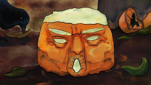 A Nasty, Moldy Orange
