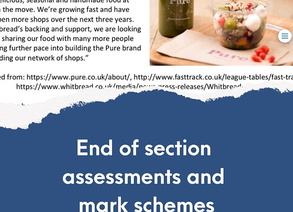 GCSE Edexcel Theme 2 - End of section assessments