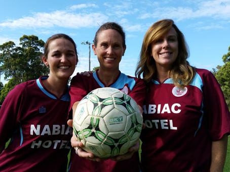 Wallamba FC Womens side has first training session