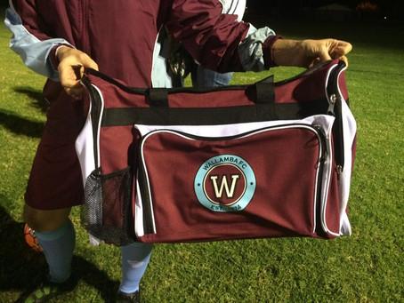 Kick off with the new Wallamba kit