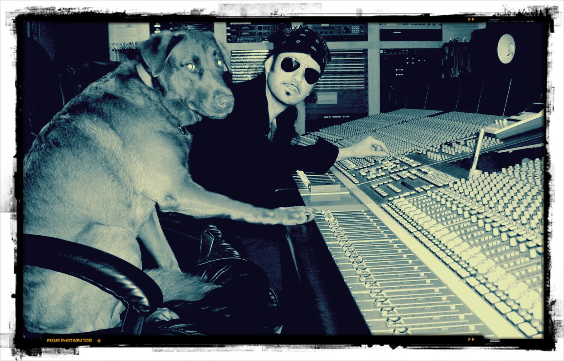 Studio mixing