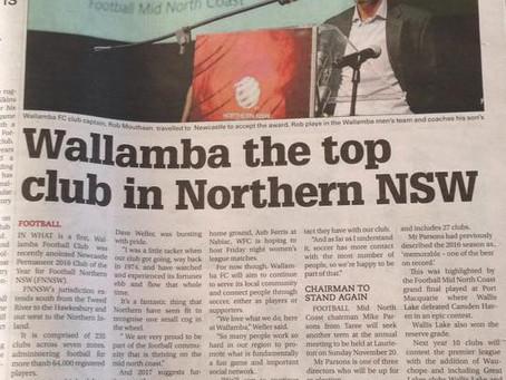 Newcastle Permanent awards Wallamba North Coast gong