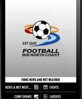 Football Mid North Coast has a new info App