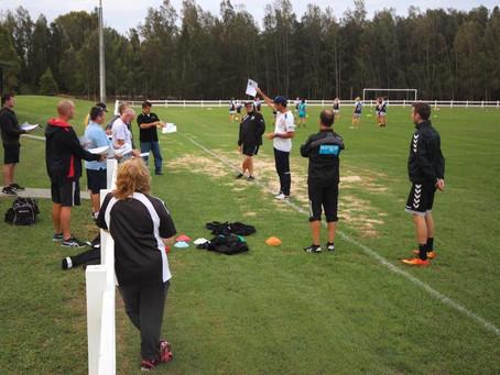 Johan - Newcastle Jets W League coach Craig Deans session