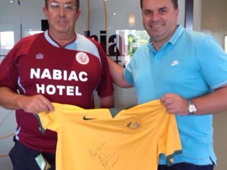 Socceroo coach drops in to support Wallamba FC