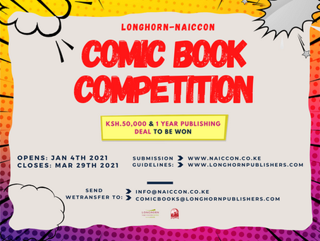 LONGHORN - NAICCON COMIC BOOK COMPETITION