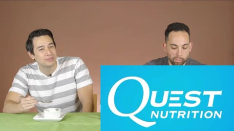 Check me out as Quest Nutrition invited me to taste one of their new protein bar flavors on their live broadcast.
